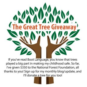 The Great Tree Giveaway - Vanya Erickson